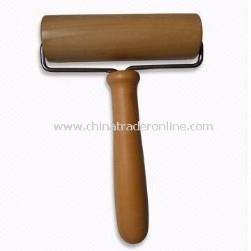 Rolling Pin with High Durability, Made of Lotus Wood