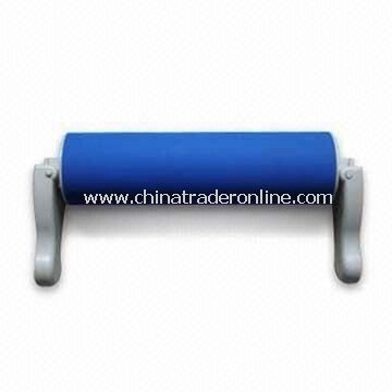 Silicone Rolling Pin with Foldable Handle, Various Colors, Shapes and Sizes are Available from China