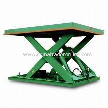 Stationary Scissor Lift with 1,700mm Lifting Height and Single Fork Frame