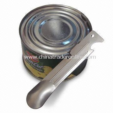 Can Opener, Made of Compact Size Stainless Steel, Measuring 105 x 20mm