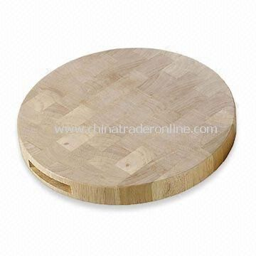 Chopping Block, Made of Beech Wooden Splicing, Environmental Friendly, Non-toxic and Tasteless