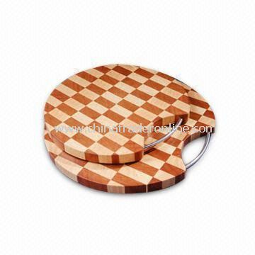 Cutting Boards in 2 Tone Colors, Made of Wooden Material