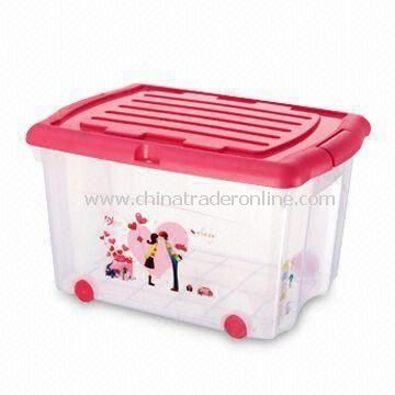 Love Inspired Household Storage Plastic Container, Measures 40 x 29 x 20.5cm