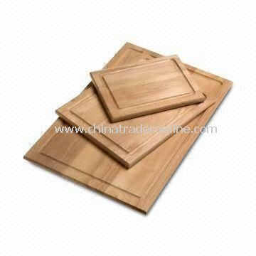 Wooden/bamboo Cutting Board, Chopping Block, Shape Customized, LFGB Test Report from SGS Available
