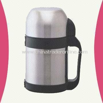 750ml Stainless Steel Vacuum Food Jug with Wide Body