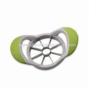 Apple Cutter, Made of ABS and Stainless Steel Materials, with 0.6mm Thickness