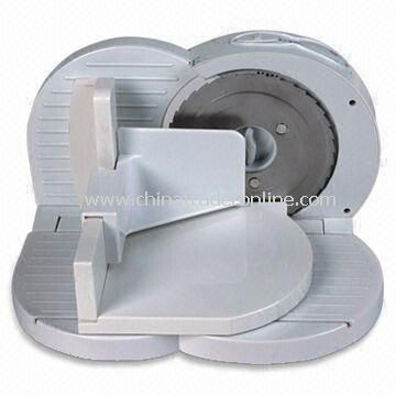 Automatic Meat Slicer with 220 to 240V Voltage, Made of Stainless Steel