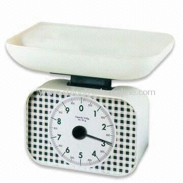 Electronic Kitchen Scale, Measures 265 x 185 x 220mm, Easy to Clean