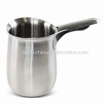 Milk Jug, Made of 301 Stainless Steel, Measures Ø8 x 11cm, Weight 202g