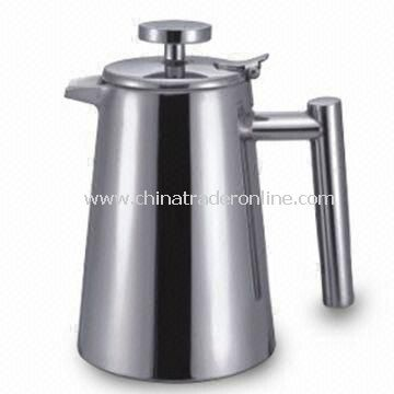 Stainless Steel Water Pitcher with Sized 1 and 0.8L