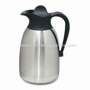 Thermos Jug, Made of Stainless Steel, Available in Gray
