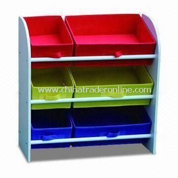 Toy Storage, Made of MDF with Melamine, Sized 60 x 29 60cm