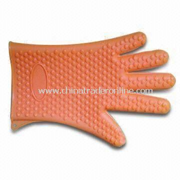 Anti-heat Pot Holder, Made of Silicone Rubber, Customized Designs Welcomed