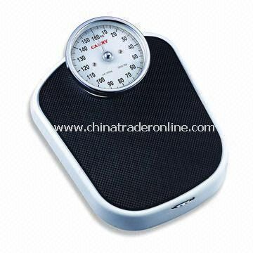 Bathroom Scale with 160kg Capacity, Measuring 34.5 x 27.5 x 13cm