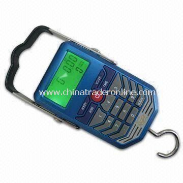 Digital Luggage Scale, Measuring 113 x 71 x 25mm, 0 to 40°C Temperature Range
