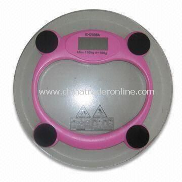 Electronic Health Weighing Scale, Measures 31 x 0.6cm, Weighs 1.6kg, Available in Various Colors