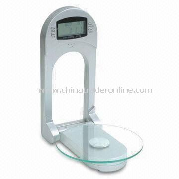 Electronic Kitchen Scale with 2/3kg Capacity, Measures 240 x 150 x 50mm