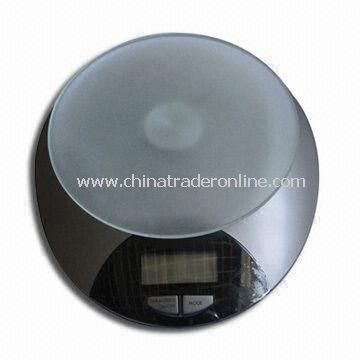 Electronic Kitchen Scale with One CR2032 Lithium Battery Power, Measures 175 x 195 x 55mm