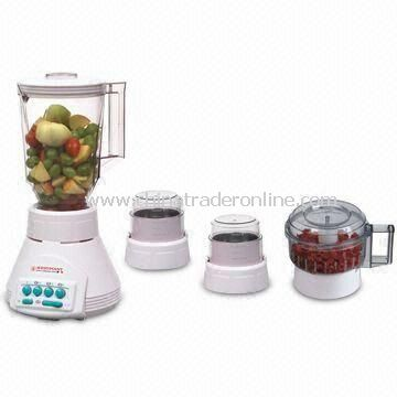 350W Food Blender with One Chopper, Spice Mill