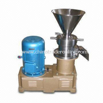 Colloid Mill, Made of Stainless Steel/Carbon Steel