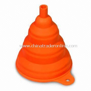 Foldable Funnel, Made of 100% Food Grade Silicone, Non-toxic
