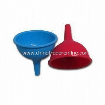 Funnel Set with Non-stick Finish, Made of 100% Food Grade Silicone