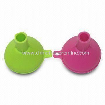 Mini Silicone Funnels, Customized Colors Welcomed