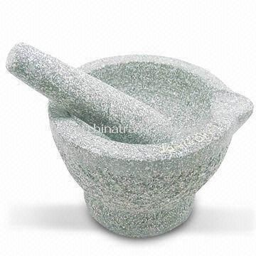 Mrtaro with Stick, Made of Granite, Ideal for Tableware