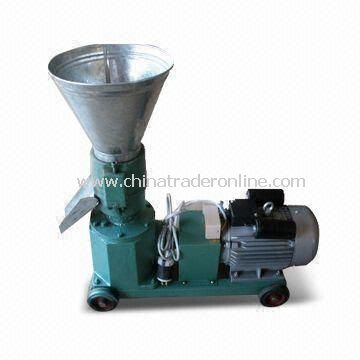 Pellet Making Machine with 4kW Electric Motor for Dog, Cat, Pig, Sheep and Rabbit Food