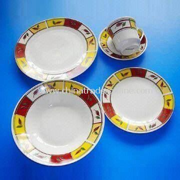 20/30 Pieces Dinner Set, Made of Porcelain