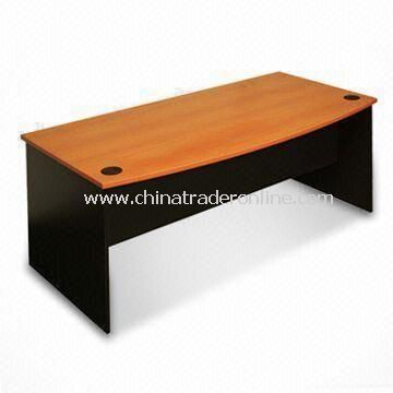 Bow Front Office Desk, Measures 1,800 x 900 x 730mm, Small Orders are Welcome