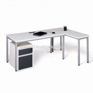 Clerk Desk with 25mm Melamine-faced Chipboard