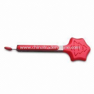 High Quality Stainless Steel Kitchen/Server/Salad/Food Tongs, Head Made of Nylon/Silicone