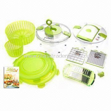 Salad Chef, Made of ABS and PVC, Can Prepare Delicious Soups