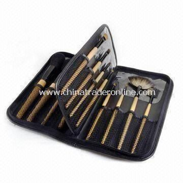 16pcs Professional Brush Set with Elegant Bag, OEM/ODM Orders are Welcome