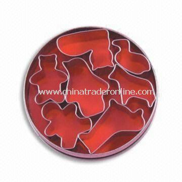 Cookie Cutters, Made of Stainless Steel and Tinplate, with Seven Pieces Animal Shape