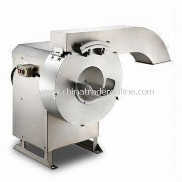 Potato Chips Cutter with 50/60Hz Frequency, 110 to 220V Voltage and 600kg/hour Efficiency from China