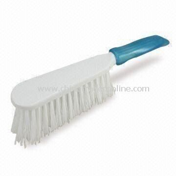 Scrub Brush with PVC Handle, Measures 28 x 7 x 6.5cm