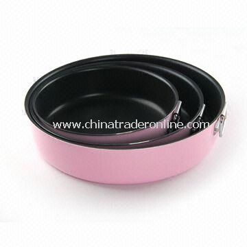 3cm Non-stick Cookware Set with 2.0 to 3.5mm Thickness, Made of Aluminum Alloy