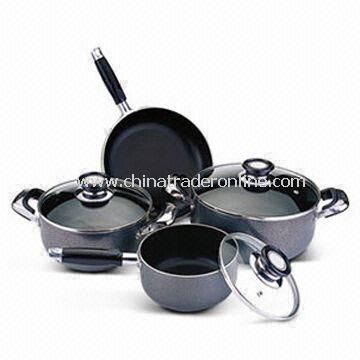 7-piece Non-stick Cookware Set, Available in Various Specifications