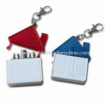 Mini Tools, Measures 7.2 x 6 x 1.7cm, with Keychain