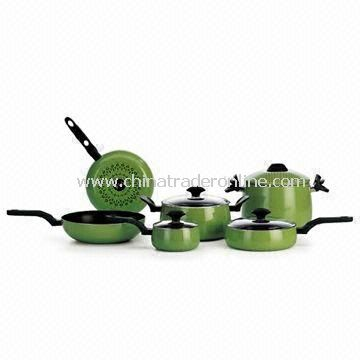 Non-stick Cookware Set with Corrosion-resistant, Easy to Clean