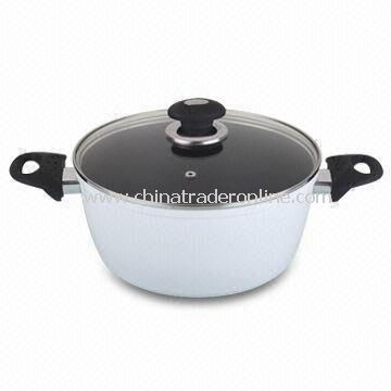 Press Aluminum Casserole; sauce pot; saucepan, pan, pot. soup pot; non-stick cookware