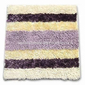 Area Rug with Anti-slip Backing, Suitable for Sofa, Made of 100% Microfiber from China