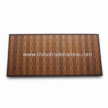 Bamboo Rug/Bamboo Mat, Suitable for Living Room and Bedroom, Customized Sizes and Patterns Accepted