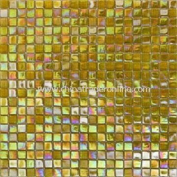Glass Mosaic, Used for Wall Tiles and Floor Tiles, Easy to Install and Clean