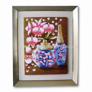 Hand-made Framed Art, Suitable for Home Decoration or Wall Hangings