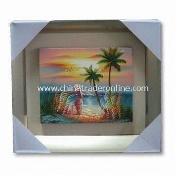 Hang Up Style Framed Art with Customized Styles, for Home Decoration or Wall Hangings