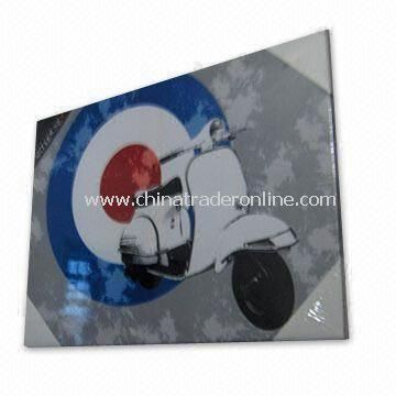 Stretched Printed Canvas in Various Styles for Motorcycle Designs and Home Decoration Purposes