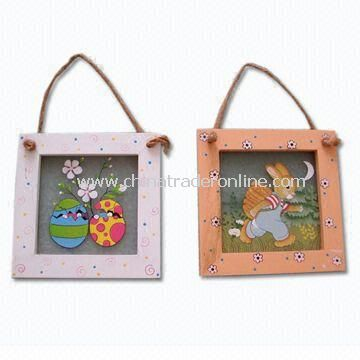 Wall Hanging Art for Home Decoration, Made of Solid Wood or MDF, Various Wall Decorations Available